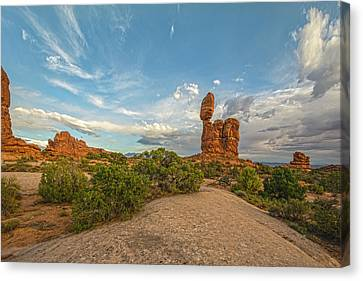 Balanced Rock Perspectives Canvas Print