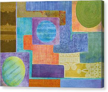 Balancing The Elements Canvas Print by Jennifer Baird