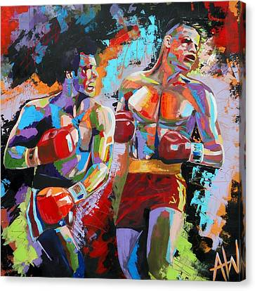 Champs Canvas Print - Balboa by Angie Wright