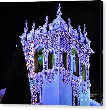 Balboa Park December Nights Celebration Details Canvas Print by Jasna Gopic