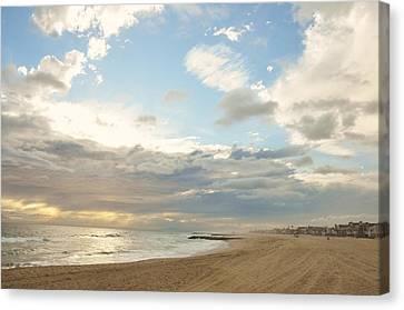 Balboa Sunset Canvas Print by Eric Malyszka