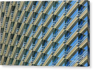 Balconies Canvas Print by Dan Holm