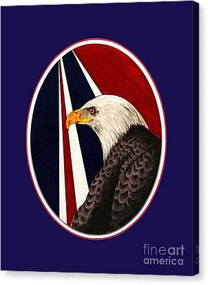 Bald Eagle T-shirt Canvas Print