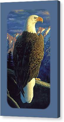 Bald Eagle Iphone Case Canvas Print by Crista Forest