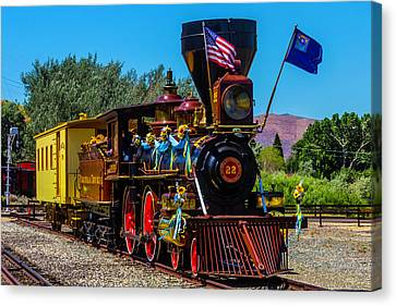 Baldwin Locomotive 22 Canvas Print