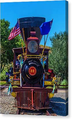 Baldwin Locomotive 22 Gingerbread Canvas Print