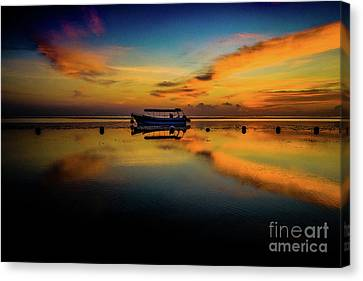 Bali Sunrise 3 Canvas Print