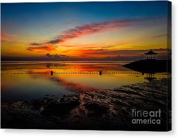 Bali Sunrise II Canvas Print