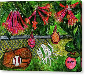 Ball Garden  Canvas Print by Lindsay Strubbe