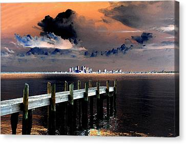 Ballast Point Canvas Print by David Lee Thompson