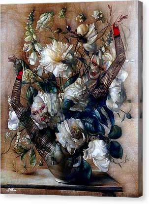 Ballerina Bouquet Canvas Print by G Berry