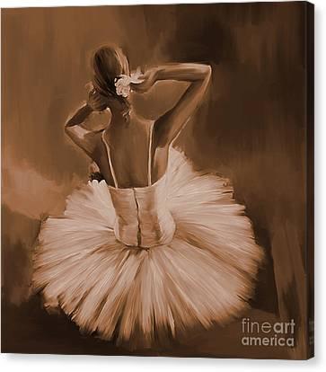 Ballerina Dance 0444c Canvas Print