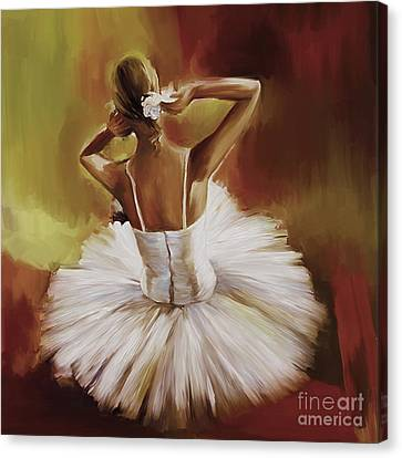Ballerina Dance 0444g Canvas Print