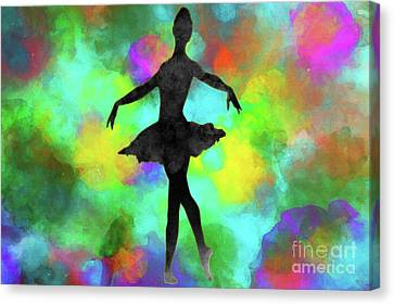 Ballerina Canvas Print by David Millenheft