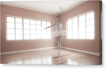 Ballerina Ghost Canvas Print by Steve Williams