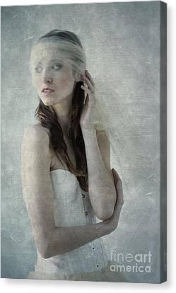 Ballerina In Morning Light Canvas Print by Diane Diederich