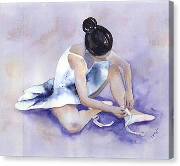 Ballerina Canvas Print by Jitka Krause