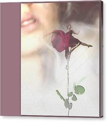 Ballerina Perfume. Canvas Print