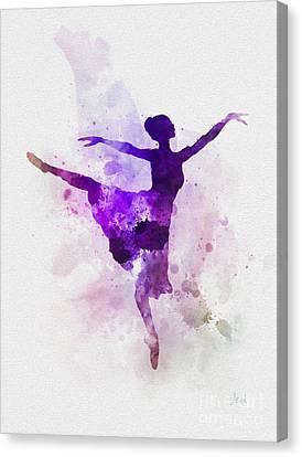 Ballerina Canvas Print by Rebecca Jenkins