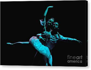Ballet 1 Canvas Print by Reb Frost