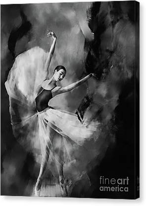 Ballet Dancers Canvas Print - Ballet Dance 03340 by Gull G