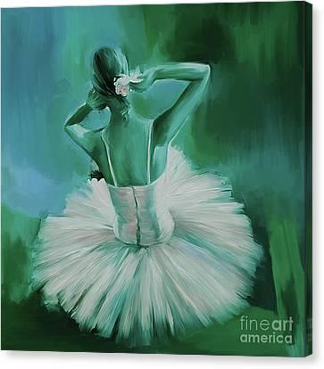 Ballet Dance 044ec Canvas Print