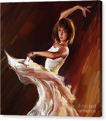 Ballet Dance 0706  Canvas Print by Gull G