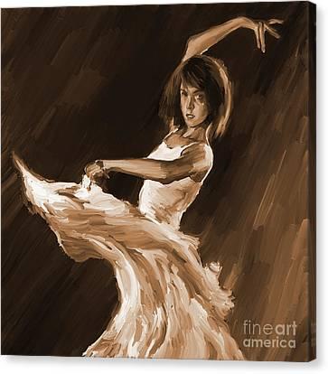 Ballet Dance 0801 Canvas Print by Gull G