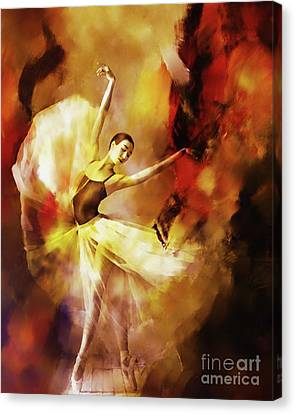 Ballet Dancers Canvas Print - Ballet Dance 3390 by Gull G