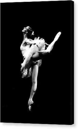 Ballet Dance Canvas Print by Sumit Mehndiratta