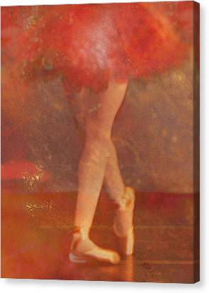 Ballet Dancer Canvas Print by Catherine Alfidi