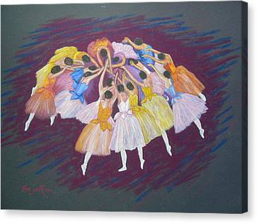 Ballet Dancers Canvas Print by Rae  Smith PSC