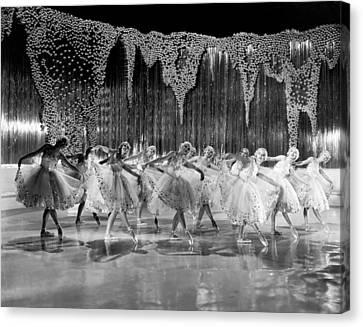 Ballet Dancers Canvas Print - Ballet Dancers by Underwood Archives