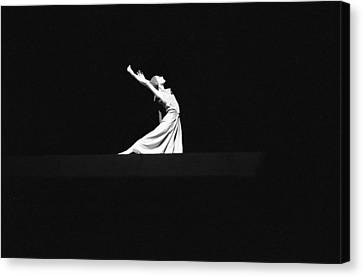 Canvas Print featuring the photograph Ballet by Emanuel Tanjala
