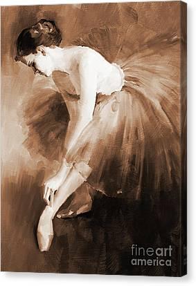 Ballet Girl 012 Canvas Print