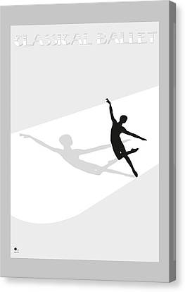 Ballet Canvas Print by Joaquin Abella
