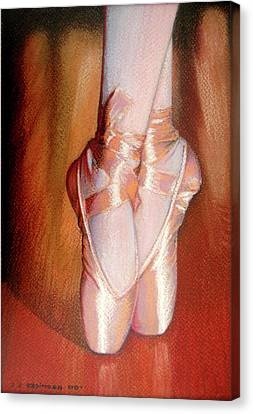 Ballet Canvas Print by J- J- Espinoza