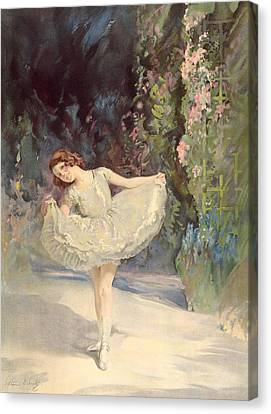 Ballet Canvas Print by Septimus Edwin Scott