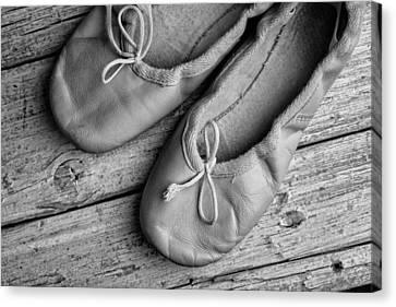 Ballet Shoes Canvas Print