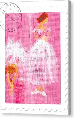 Ballet Sisters 2007 Canvas Print by Marie Loh