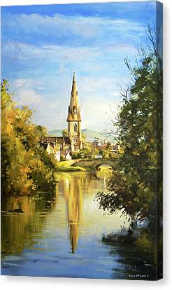 Ballina Cathedral Spire Canvas Print