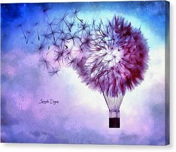 Balloon - Da Canvas Print by Leonardo Digenio