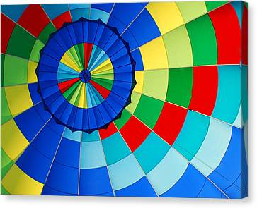 Balloon Fantasy 8 Canvas Print by Allen Beatty