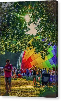 Balloon Fest Spirit Canvas Print
