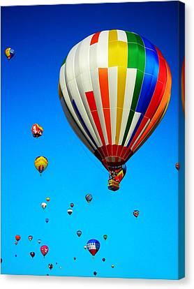 Balloon Festival Canvas Print by Juergen Weiss