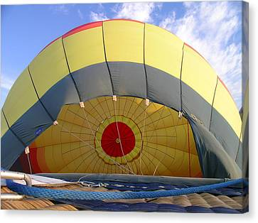 Balloon Inflation Canvas Print by Jim DeLillo