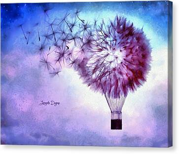 Balloon Canvas Print by Leonardo Digenio