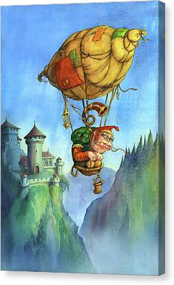 Balloon Ogre Canvas Print