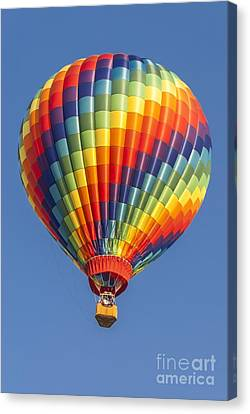 Ballooning In Color Canvas Print by Anthony Sacco