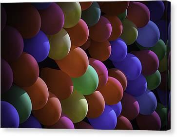 Balloons At The Fair Canvas Print